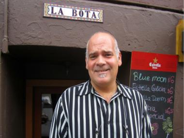 Pharmacy owner turned restaurateur Adolph Gonzalez opened La Bota on Greenwich Avenue in March.