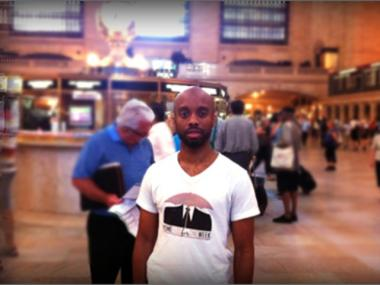 Yusef Ramelize will spend a week living in and around Grand Central Terminal to raise money and awareness.