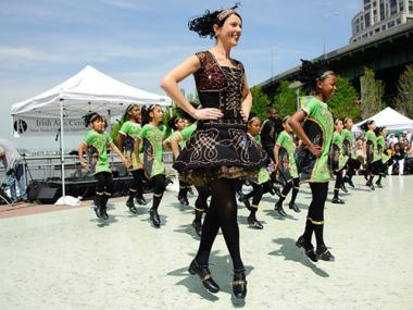 Keltic Dreams perform at Irish Arts Center 10th Annual Dance Festival at Riverside Park South.