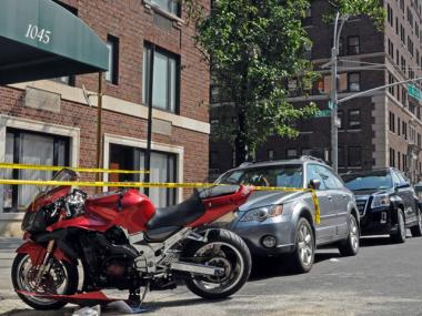 A 38-year-old man was rushed to the hospital after colliding with another vehicle at Park Avenue and 86th Street on August 8, 2011.