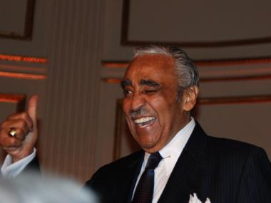 Charles Rangel at 2010's  birthday fundraiser.