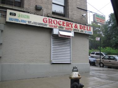 This empty bodega would become an employee-owned vegetable co-op for people who have aged out of the foster care system, under Gregory Allen's plan.