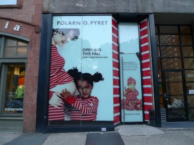Polarn O. Pyret, a Swedish kids' clothing retailer with a socially-conscious vibe, opened recently on Columbus Avenue near West 81st Street.