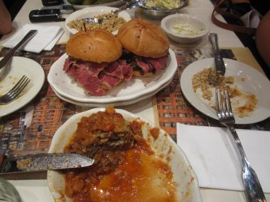 Brisket and pastrami and other Jewish food delighted customers at the new 2nd Ave Deli.