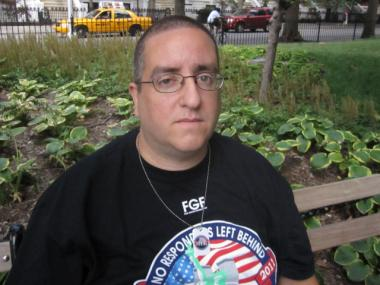 Louis Ferrara, an EMT who is sick after working 72 hours at Ground Zero, was relieved to hear of the federal government's decision on cancer coverage.