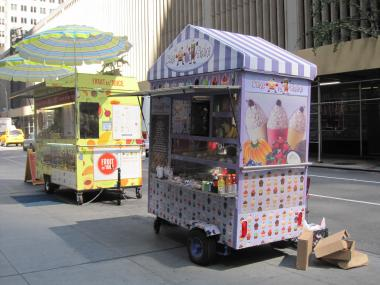 Seven new food carts and trucks with affordable options will be added to the park May 1, 2013, according to the Hudson River Park Trust.