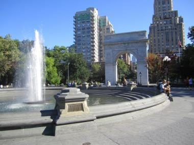 The redesign of Washington Square Park began in 2007 and eliminated dozens of trees more than 40 years old.