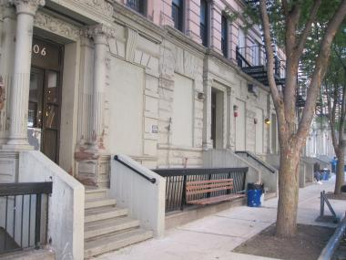 The Randolph Houses on 114th Street between Adam Clayton Powell Jr. Boulevard and Frederick Douglass Boulevard.