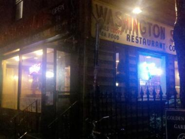 The Washington Square Diner in Greenwich Village filled a massive order for sandwiches from the MTA Saturday night.