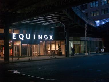 Fitness fashionistas will have a chance to buy stylish sweatwear at the Equinox gym in Chelsea during Fashion's Night Out