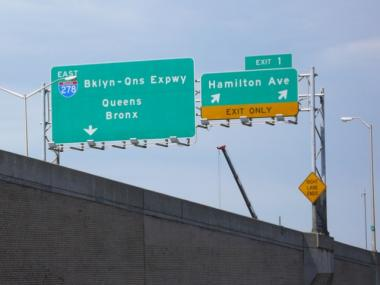 The Brooklyn-Queens Expressway.