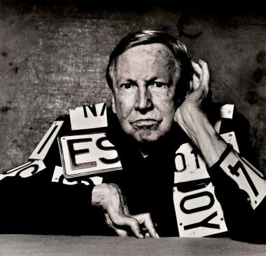 Artist Robert Rauschenberg, whose early photography will be on display for the first time in Chelsea this week.