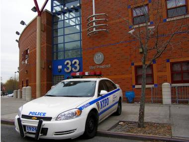 Crime has actually risen in Washington Heights' 33rd Precinct over the past 17 years, but remains safer than Downtown, Midtown and Greenwich Village in terms of overall crime.