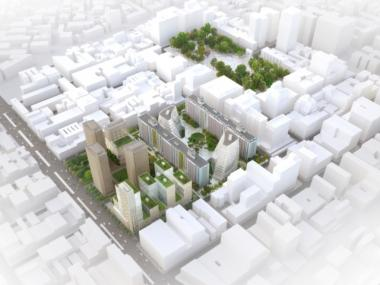 NYU released the latest design for its 20-year expansion on Thursday, Sept. 15, 2011.