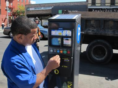 The city is considering turning its muni-meters over to a private company.