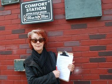 East Village resident Roberta Bayley has started a petition asking the Parks Department to restore the Washington Square Park bathrooms' original 7 a.m. opening time.