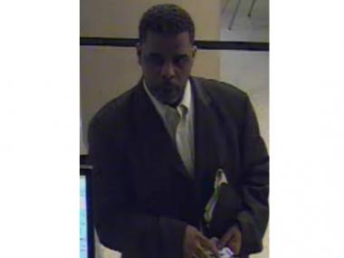 Police said this man allegedly robbed a bank at 57 W. 57th St. on Sept. 21, 2011.