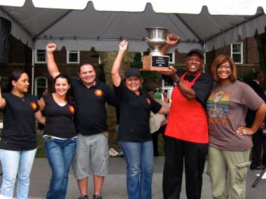 Solber Pupusa was crowned the 2011 Vendy Cup winner at the Vendy Awards on Governors Island on Sept. 24, 2011.