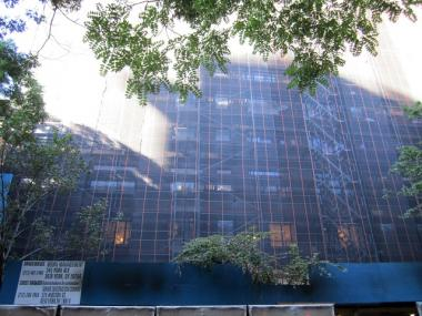 Condos at 130 W. 12th St. that are under construction now will be on sale beginning in late fall, Rudin Management announced Sept. 26, 2011.