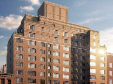 The condos at 130 W. 12th St. will cost from $1.4 to $12.9 million each.