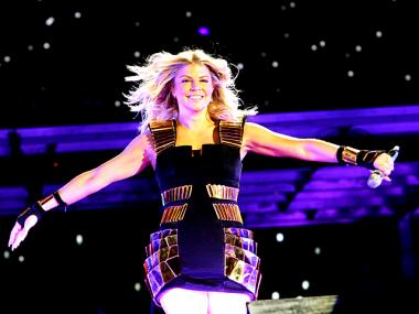 Singer Fergie of the Black Eyed Peas in Central Park on Sept. 30, 2011.