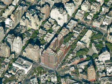 Rudin Management released this bird's eye view of the completed development on Oct. 3, 2011.
