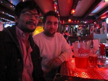 Dhruv Mehrotra and Oscar Brett visited Down the Hatch on Oct. 4, 2011.
