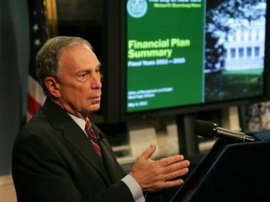 Mayor Bloomberg will present his 2013 Executive Budget on May 3.