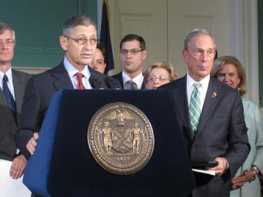 Assemblyman Sheldon Silver said that Occupy Wall Street protesters have outlived their welcome.