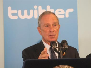 Mayor Michael Bloomberg congratulated @ElBloombito creator Rachel Figueroa-Levin via his Twitter feed.