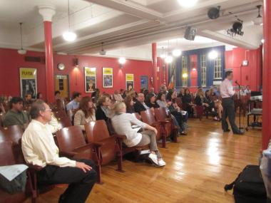 Upper East Side parents attended a hearing on Thursday, Oct. 6 with DOE officials and District 2's Community Education Council to discuss proposed rezonings.