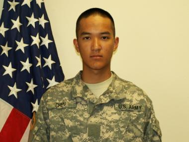Army Pvt. Danny Chen, 19, died in Afghanistan on Oct. 3, 2011.