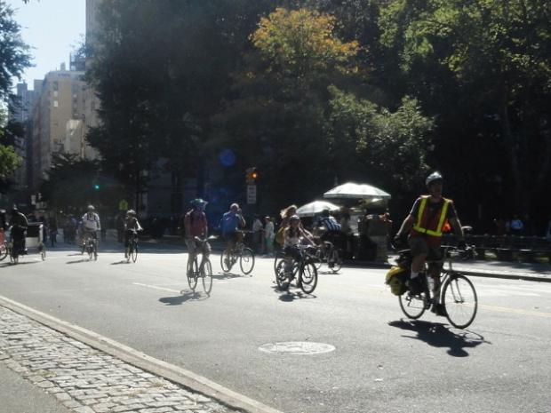 At a recent community meeting, residents told the city to bolster bike safety in Central Park.
