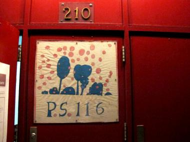 P.S. 116 is located on East 33rd Street between Second and Third avenues in Kips Bay.
