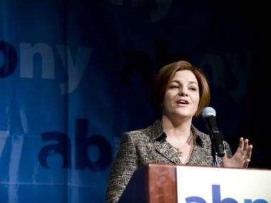 City Council Speaker Christine Quinn unveiled a host of new jobs initiatives Monday morning.