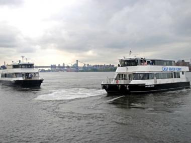 The East River Ferry is adding new, larger boats for weekend runs.