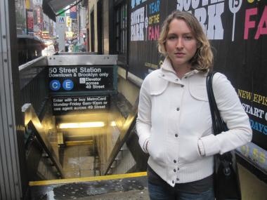 West Village resident Kelly Chorba said she was attacked on her way home from work last month.