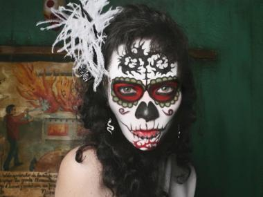 The staff at Ofrenda in the West Village will wear elaborate makeup as part of its Day of the Dead celebration.
