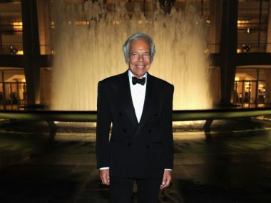Ralph Lauren at Lincoln Center in 2011.
