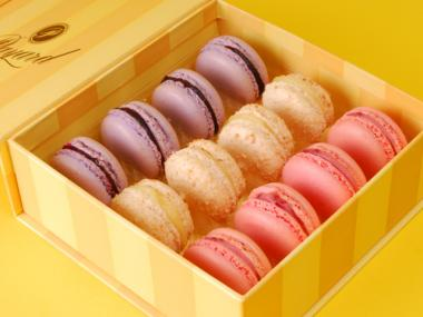 Macarons from Francois Payard Bakery.