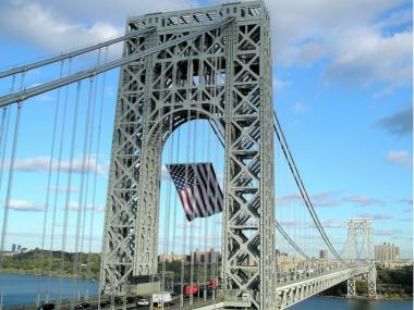 A construction project on the Alexander Hamilton Bridge is expected to cause major delays on the George Washington Bridge, the state's Department of Transportation said.