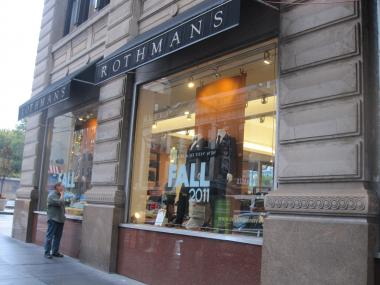 Rothman's is one of the city's best-known small businesses.