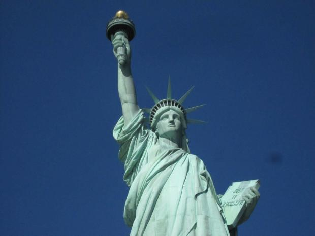 The NYPD was called to the Statue of Liberty for a bomb scare Wednesday morning.