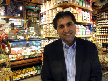 Mustafa Coskun is the owner of the Garden of Eden chain of grocery stores, which recently received some energy-efficient upgrades.
