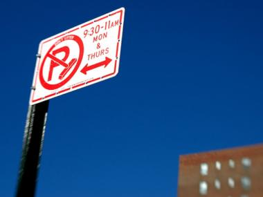 Alternate side parking rules have been suspended above 181st Street in Manhattan from river to river.