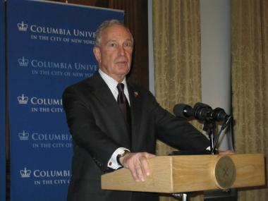 Mayor Michael Bloomberg said he is deeply concerned about crime at Occupy Wall Street.