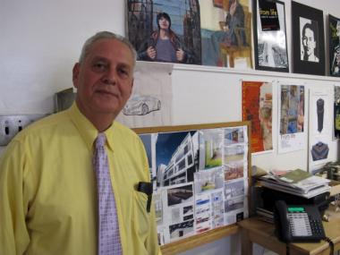 Eric Strauss, 58, is the principal of the Art and Design High School on Second Avenue in Turtle Bay.