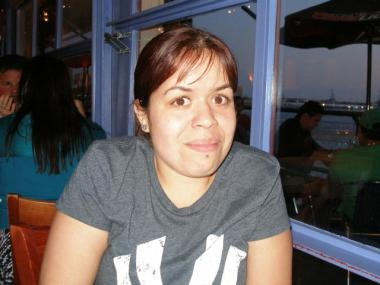 Lana Rosas, 25, before she was seriously injured in the Feb. 25, 2011 incident.