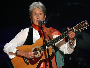 Joan Baez, seen here performing at Madison Square Garden in 2009, will attend an Occupy Wall Street demonstration in Foley Square on Fri., Nov. 11, 2011, organizers said.