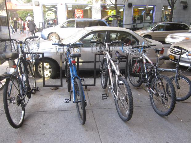 If a proposal from a biking group gets community board approval, the DOT will install 91 new bike racks.